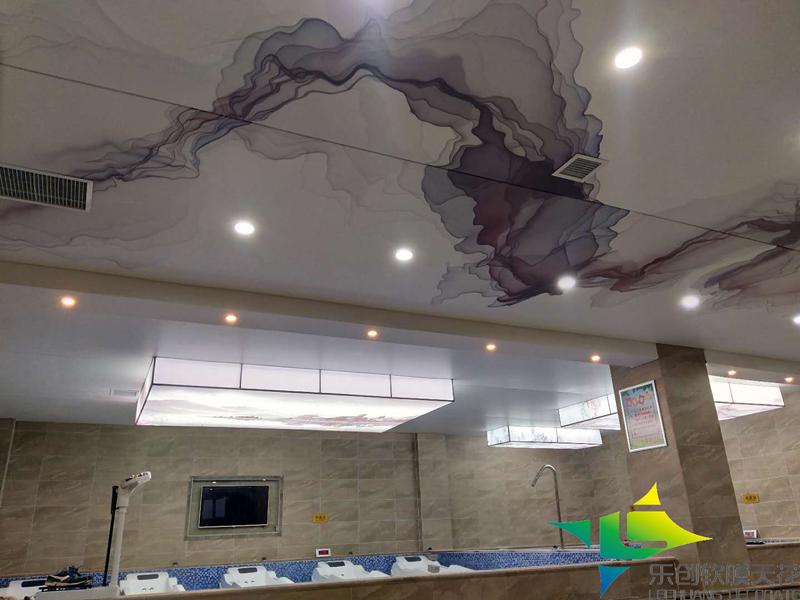 烟台洗浴防潮造型吊顶
