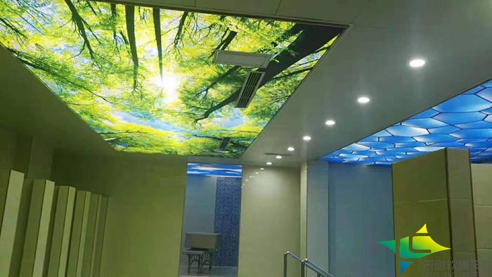 祝贺我公司陕西榆林海洋之星洗浴会所浴区英国储君防潮保温吊顶完工
